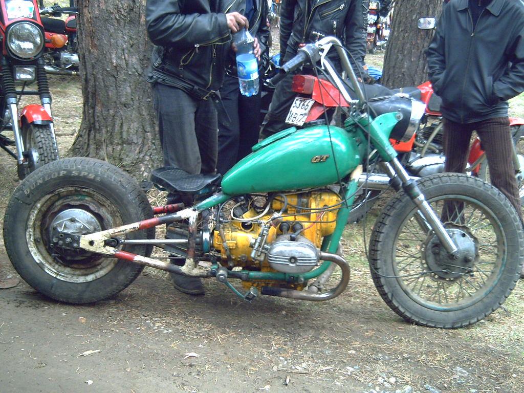 Мотоцикл урал кастом своими руками